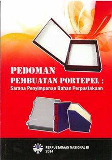 Koleksi Ebook Pustakawan Perpusnas RI judul Pedoman Pembuatan Portepel