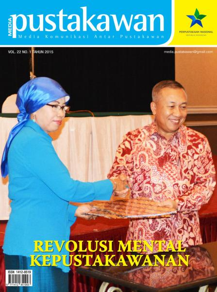 Media Pustakawan Vol. 22, No.1 , Tahun 2015