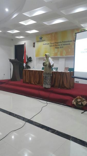 117 Tenaga Pengelola Perpustakaan Sekolah Ikut Bimtek - Laporan dari Ambon