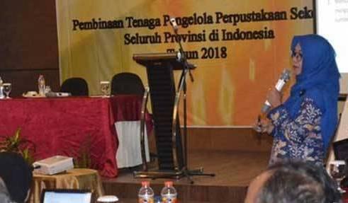 Bimtek Pembinaan Tenaga Pengelola Perpustakaan di Semarang