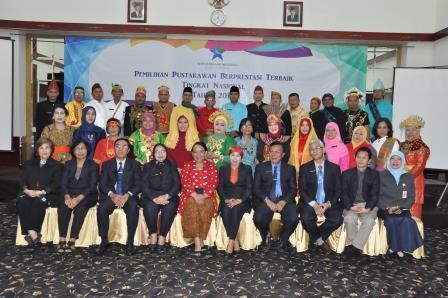Laporan Singkat Pelaksanaan Pemilihan Pustakawan Berprestasi Terbaik Tingkat Nasional Tahun 2018